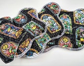 Zelda Cloth Pads ~ Reuseable Cloth Panty Liner ~ Organic Mama Cloth ~ Washable Cloth Menstrual Products ~ Reusable Cloth Pads ~