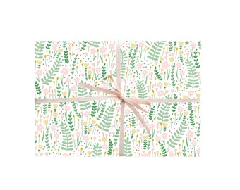 Garden Florals Wrapping Paper
