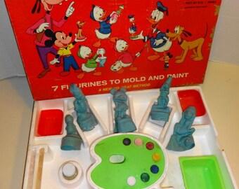 1960s Walt Disney Character Mold Set.