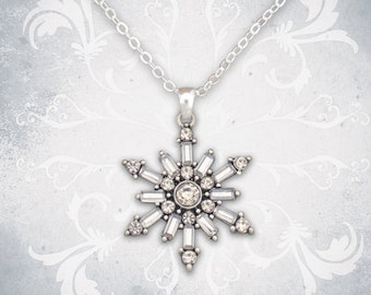 Snowflake Necklace - 47243