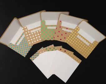 Metallic pattern set