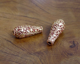 Two Tibetan Beads