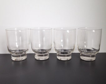 Four Eva Zeisel Stockholm High Ball Glasses by Federal Glass