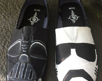 Disney Star Wars Inspired Handpainted Shoes