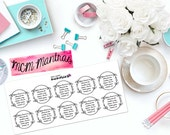 "MCM MANTRAS: ""You have a choice..."" Paper Planner Stickers!"