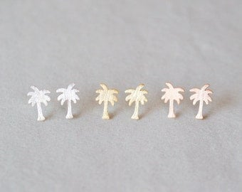 Palm Tree Earrings - 010100043 - 010100045