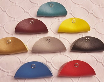 The Vinyl Cord Keeper: 2 per order in Beautiful Solid Colors!