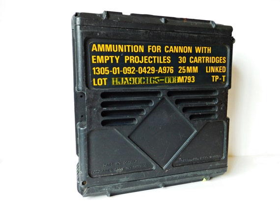 Indestructible Ammo Can Waterproof 25 Mm Military Issue