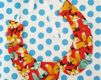 Foxy Retro Peter Pan Collar