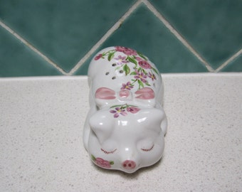 Vintage Ceramic Pig Pot Pourri/Lavender Holder