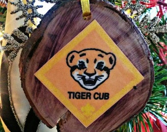 Girl scout ornament etsy for Cub scout ornament craft