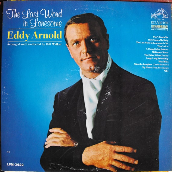 Eddy Arnold The Last Word In Lonesome Vintage Record Album