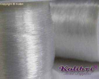 80 m Spool Clear Nylon Thread 0.3mm * * REDUCED PRICE