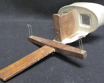 Antique Vintage 1901 Sun Sculpture 3D Stereo Viewer Underwood Stereoscope