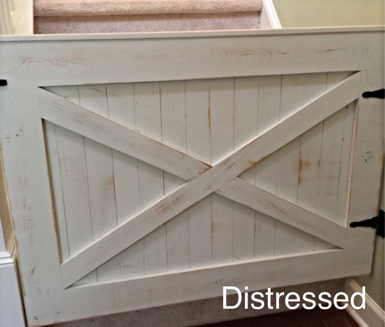 Rustic Dog Or Baby Gate Barn Door Style By Loninedesigns