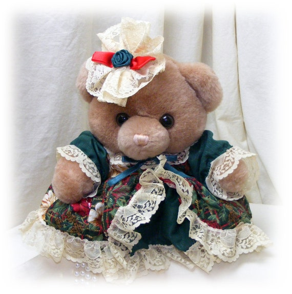Adorable VICTORIAN BEAR . . By Tb Trading Co . . . Marked 50% Off