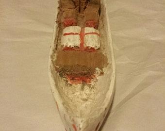 Vintage Carved Native/Aboriginal Folk Art