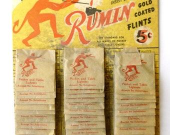 Vintage 'Rumin' Lighter Wicks