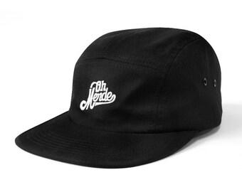 Oh merde camper hat black  one size fit all