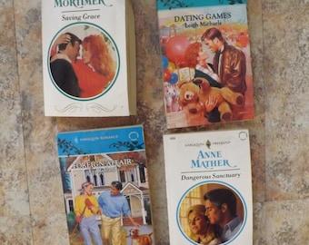Vintage Harlequin Romance Books - Ls books