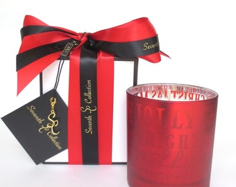 Christmas Cinnamon and Orange Festive Soy Candle Seventh Collection