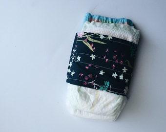diaper strap // FLORAL