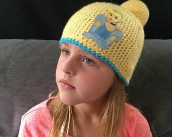 Cinderella updo inspired hat
