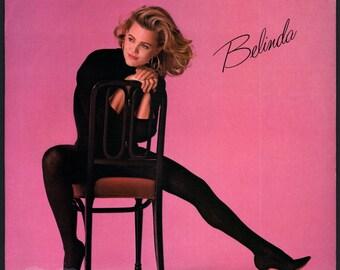 Belinda Carlisle - self-titled (1986) Vinyl; Mad About You, Go-Go's