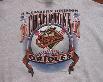 Vintage Baltimore Orioles sweatshirt crewneck Adult XL
