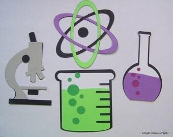 Lab/chemistry die cuts