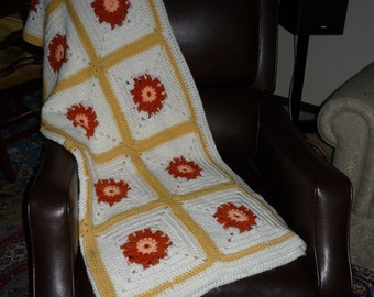 Vintage Afghan Throw