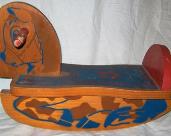 Vintage Rocking Horse 1940's
