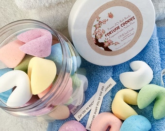 Fortune Cookie Bath Bombs - kind to sensitive skin