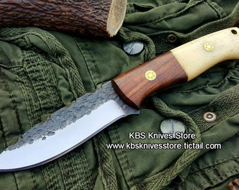 Custom Hand Forge High Carbon Steel Blade Knife