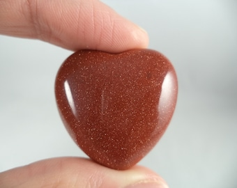 Goldstone Heart (.66 oz.)