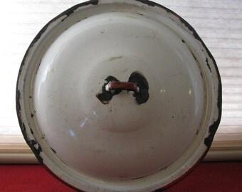 Vintage Enamelware lid