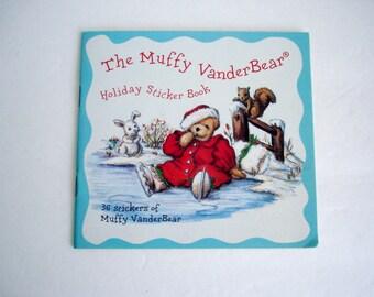 Muffy VanderBear Muffy Mail Holiday Sticker Book