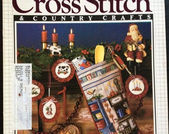 Cross Stitcch & Country Crafts - 5 magazines - second bundle
