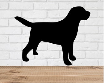 Labrador Wall Decal Stickers  - 1 to 19 inches high Bedroom Nursery Wall Large Wall Art