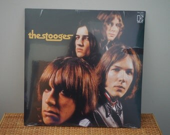 unopened THE STOOGES vintage vinyl record MINT condition // Electra  Records // Iggy Pop // Proto Punk Garage Rock