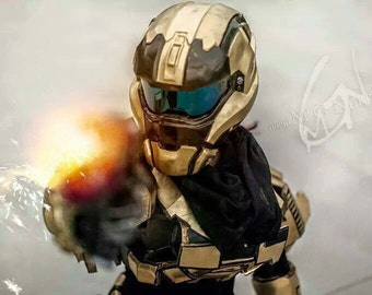 handmade halo reach default armor master chief videogame eva foam armor cosplay halloween - Halo Reach Halloween Costume