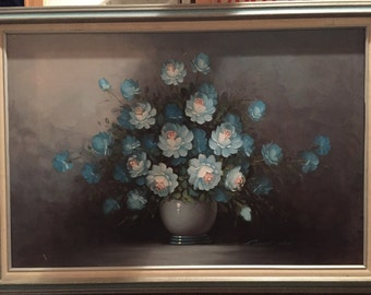 Stunning Framed Signed Vintage Robert Cox Oil Painting