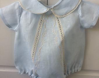 Habsmade Bodysuit, baby boy, very delicate