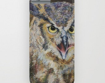 Great Horned Owl Phone Case