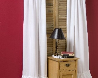 "Kimberly Ruffled Curtains (100""W x 96""L)"