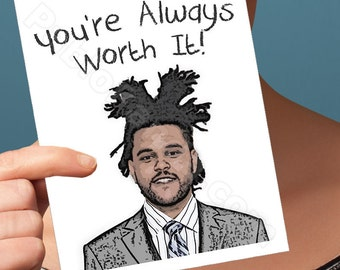 Anniversary Card | The Weeknd Card | I Love You Card Funny Anniversary The Weeknd The Weekend Boyfriend Card Husband Card Girlfriend Card