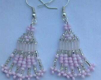 Pale Pink Earrings