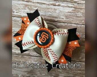 San Francisco giants Baseball Bow