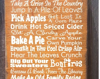 fall decor, Autumn Sign, Fall decoration, Thanksgiving decor, autumn decor, thanksgiving sign, holiday sign, fall sign, 36