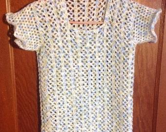 Crocheted Breezy T-Shirt